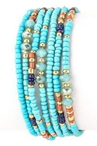 Bead Stretch Bracelet $9