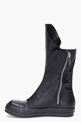 Visions of the Future: RICK OWENS Black Ramones Boots