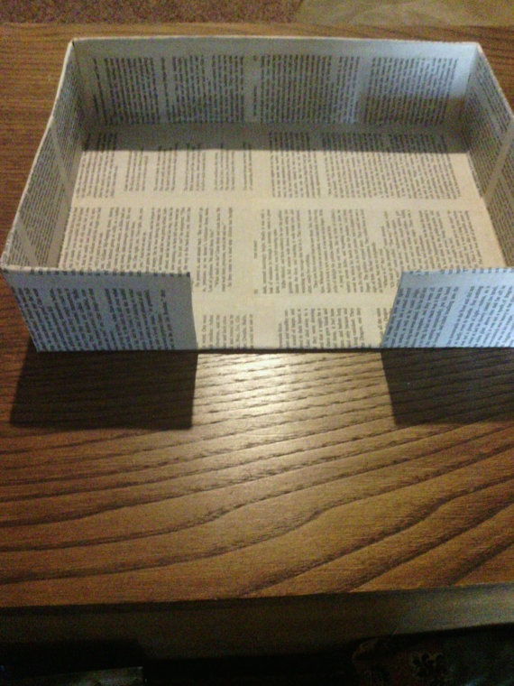 Lord of the Rings Desk Tray with pages from by PixieMoonCreations, $12.00Rings Desks, Desks Trays