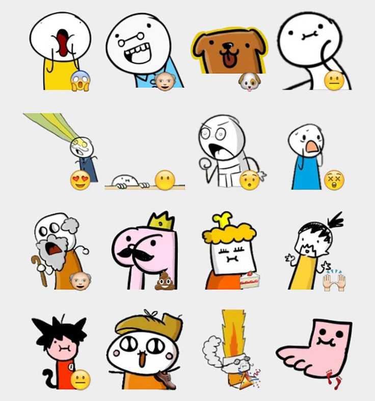 Sio Stickers Set | Telegram Stickers
