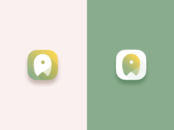 App Icon. Background is kind of gradient with shadow  I would say.