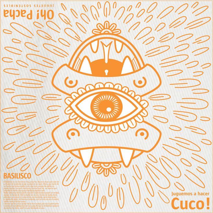 Manta para Hacer CUCO! con personajes de nuestra mitologia.