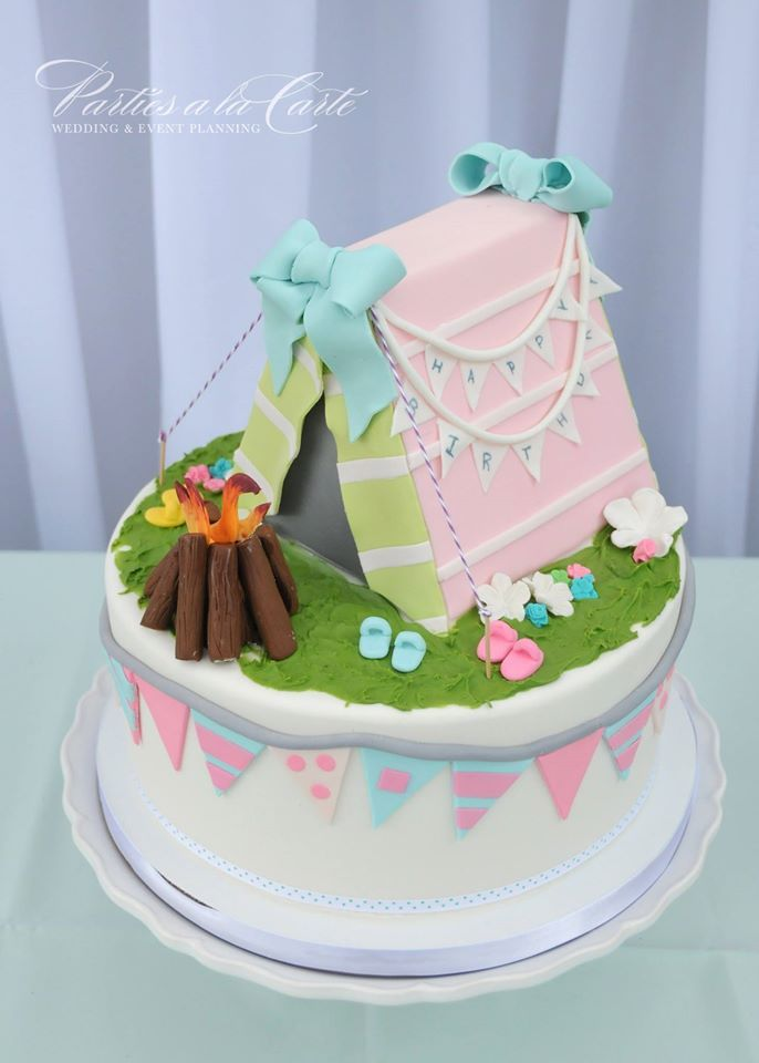 Let S Go Glamping ‬ Cake Ideas Pinterest Cute Cakes