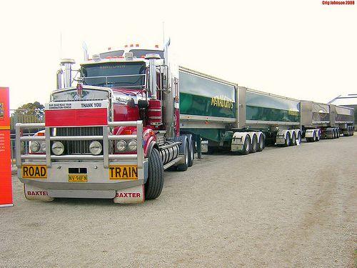 Australian Road Trains: Aussie Trucker Kertoo Real Story