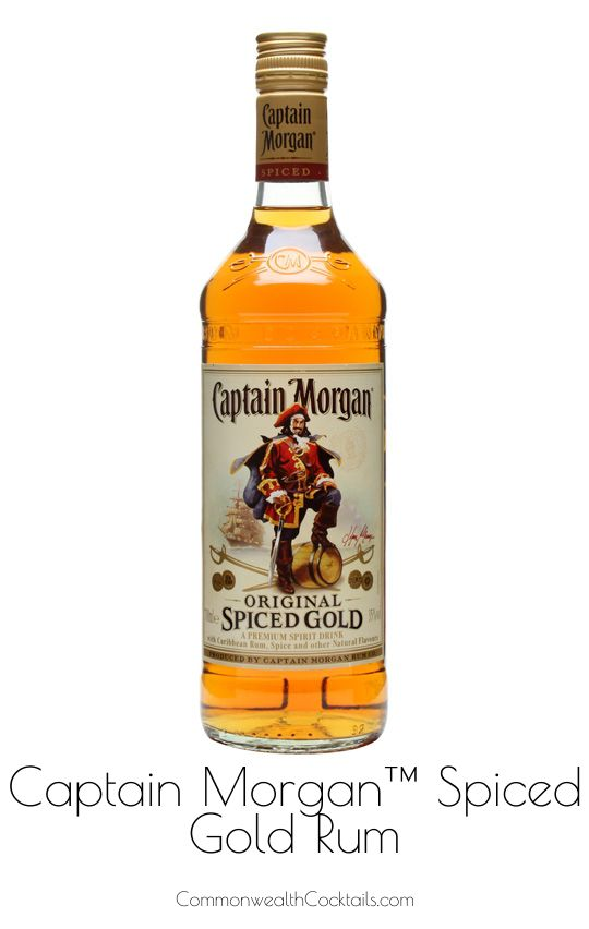 Captain Morgan Spiced Gold Rum - Smooth and medium bodied Captain Morgans Spiced Gold gets its distinct richness and amber color from blending aged dark rum and spices.
