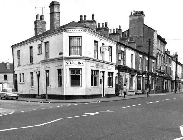The Star Inn was a Shipstones tied house situated on Arkwright Street. This pub was demolished in the 1970s. Photo 1973