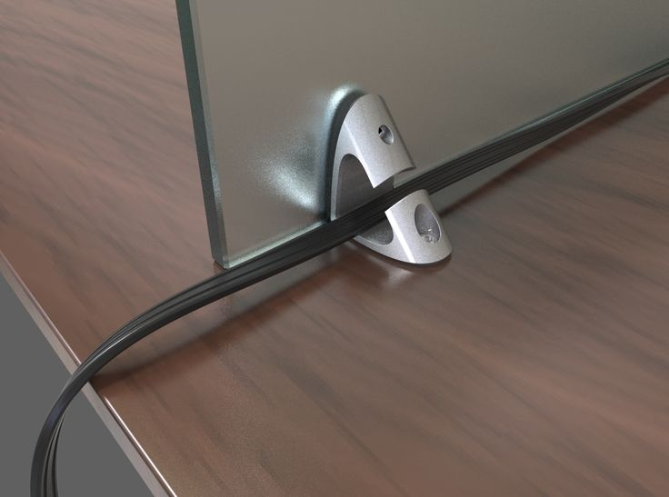 Designed by Myers Welborn - 2016, M1 Divider Bracket is a panel bracket that can accommodate different panel thicknesses. This modern design is not only panel holder, but also a cable management support. Congratulations to Welborn one of the 4 winners of the 31st Annual Design Competition! Don't miss the next competition design. Get inspired, the due the for submission is Sep 6th, 2017! #bracket #panel #design #designer #office #solution #support #productdesign
