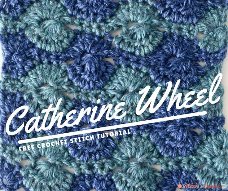 How to Crochet the Catherine Wheel Tutorial | AllFreeCrochetAfghanPatterns.com