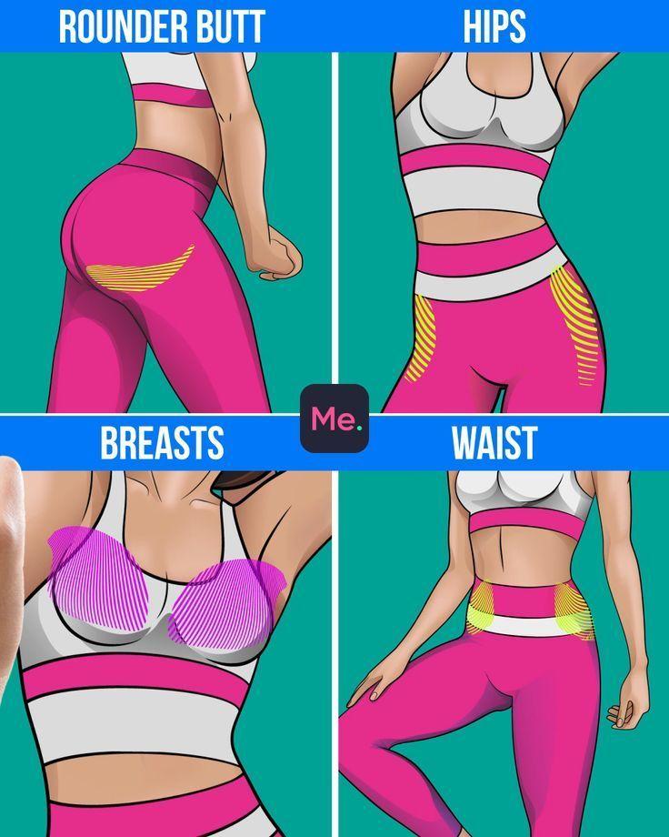 App, um zu trainieren und Gewicht zu verlieren