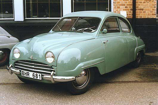 1958 Saab 92b