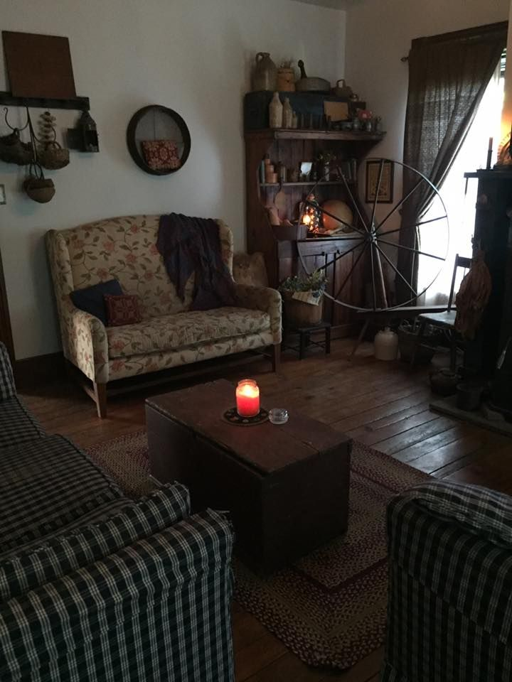 308 best my someday prim livingroom images on pinterest primitive living room primitive decor - Primitive curtains for living room ...
