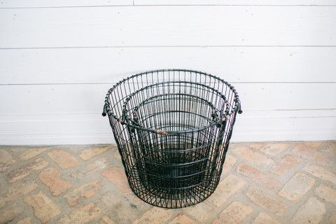 Black Laundry Basket | The Magnolia Market