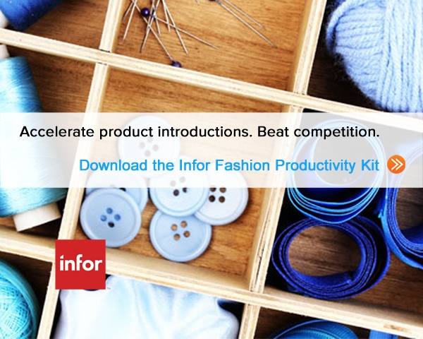 Lean Fashion Supply Chain value will help drive more value for the consumer. Access the Infor Fashion Productivity Kit