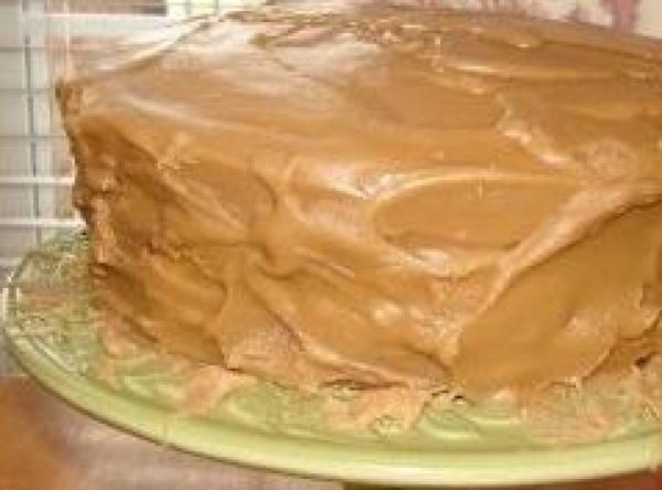 Caramel Icing Recipe 1964