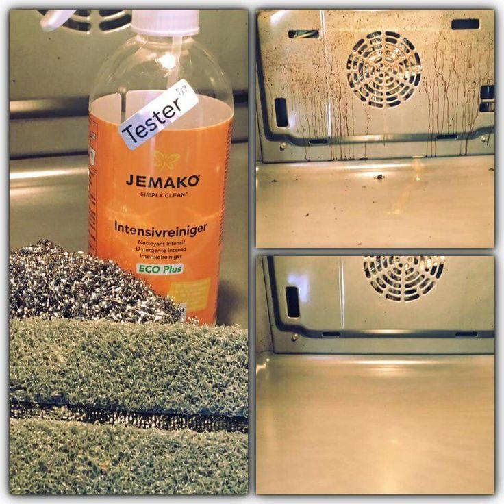 Frühjahrsputz für den Backofen - ohne lästiges Schrubben und ohne Chemiekeule! Schonende Reinigung im lebensmittelverarbeitenden Bereich für den Ofen mit dem Eco-Plus-Siegel von JEMAKO!