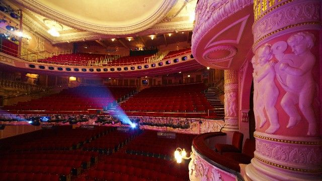 The Auditorium Of The Shaftesbury Theatre There Are Just