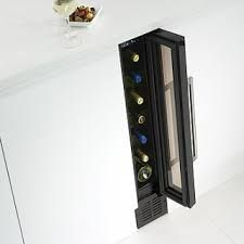 Under-counter small wine fridge