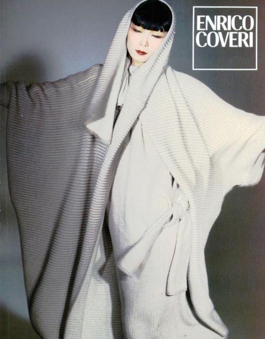 Enrico Coveri Fall 1984 Sayoko Yamaguchi by Francois Lamy