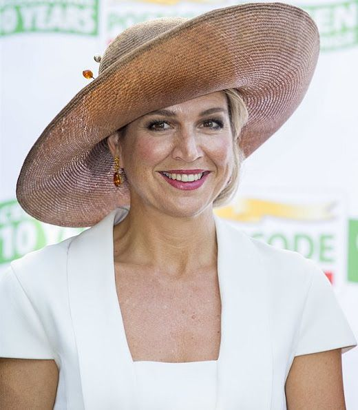 Queen Maxima attends the Postcode Lottery Green Challenge