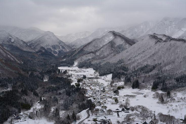 山寺(立石寺)からの眺め 2015.1