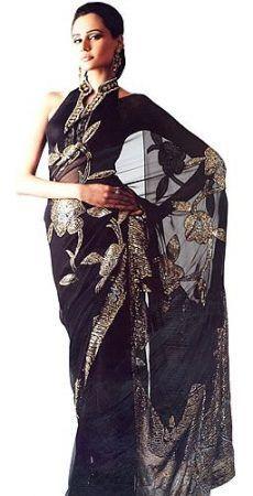 http://ladyselection.com/shop/saree/black-net-sari/