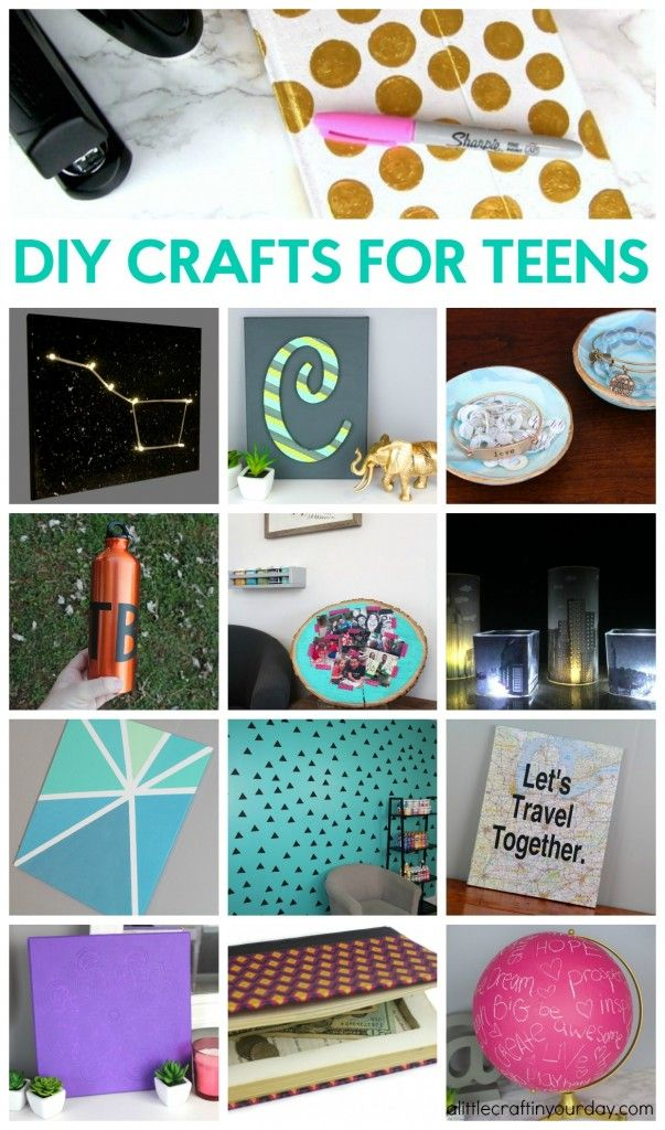 DIY Crafts for Teens Diy crafts for teens, Fun crafts