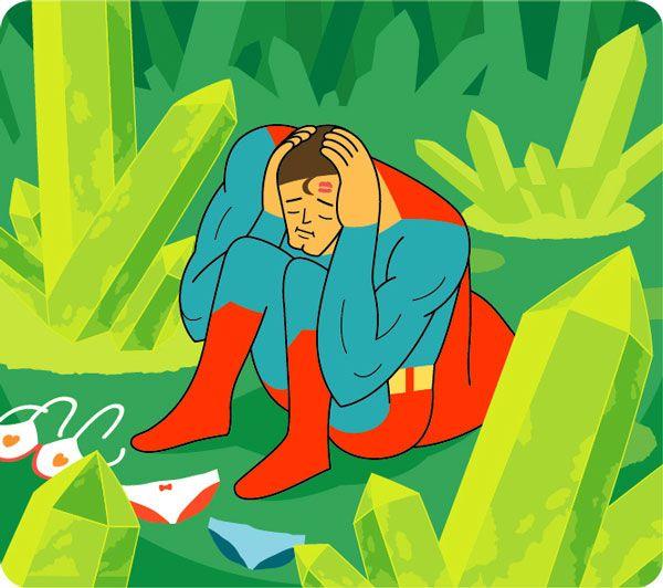 Depressive Superheroes