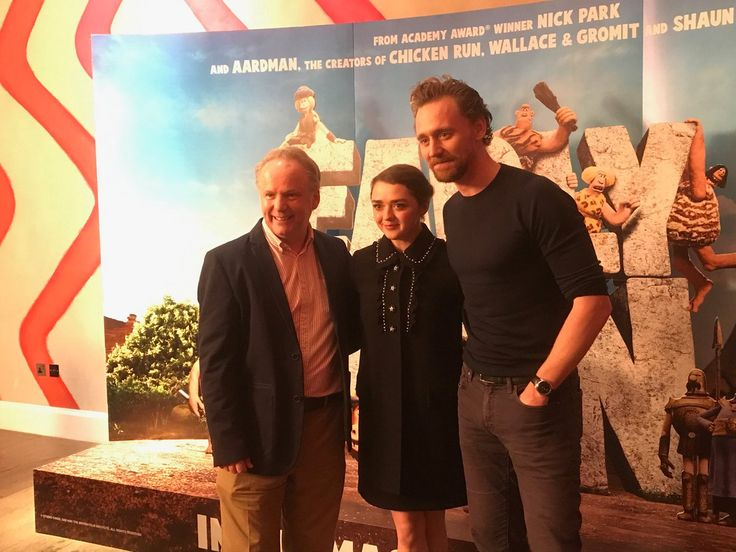 """""""Here we go guys! A preview of some scenes from #EarlyMan with Nick Park @Maisie_Williams @twhiddleston""""  (https://twitter.com/PeteLordAardman/status/916296072628187136 )"""