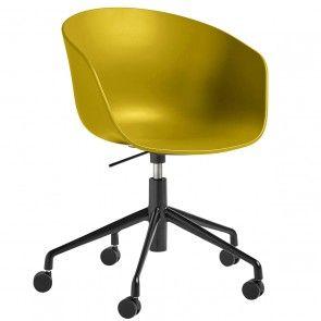 About a Chair bureaustoel Hay AAC52 mosterdgeel | Musthaves verzendt gratis
