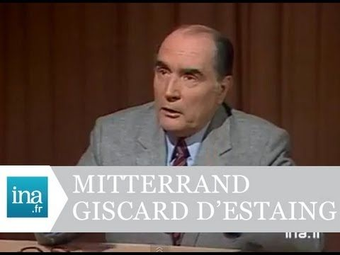 Débat 5 mai 1981 :Valéry Giscard d'Estaing  / François Mitterrand - Arch...