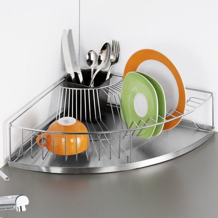 corner dish rack muebles de cocinas pequenas organizar los armarios de la cocina decoracion de cocina pinterest