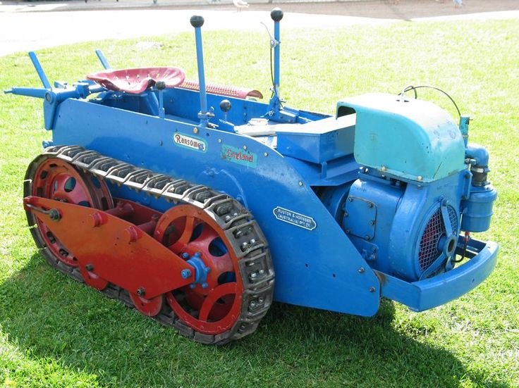 Home Built Power Pup Tractor | Crawler Tractor - Ransomes ...