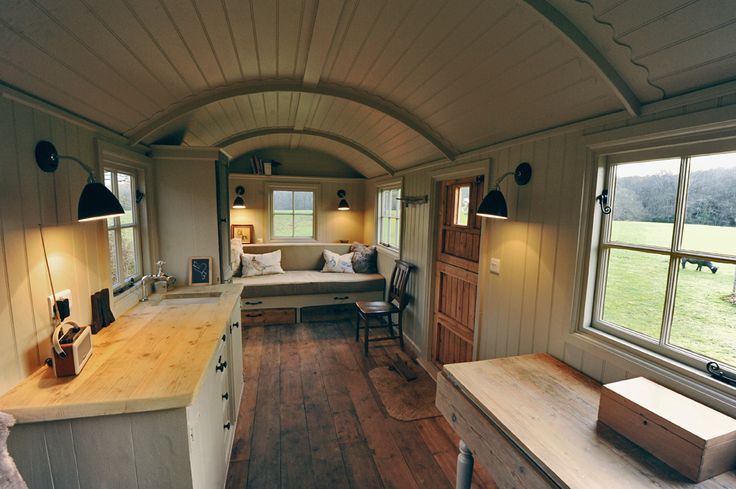 Shepherd Hut Inside | Shepherd Hut interior                                                                                                                                                     More