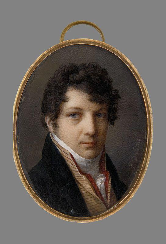 Dubois, Frederic, Portret młodego mężczyzny, 1810, MNW