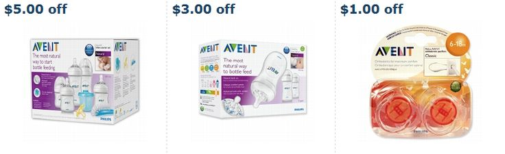 $9.00 in Avent Baby Products Printable Coupons