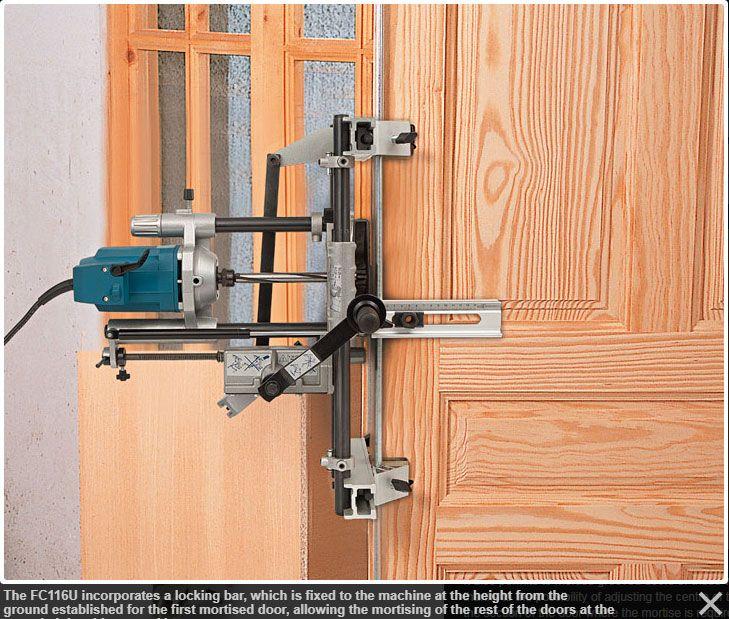 Virutex Fc116u Door Lock Router 110v Door Locks Router Mortising Machine