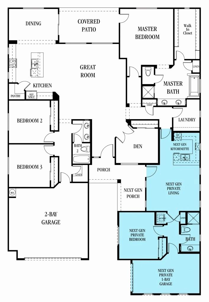 Mother In Law Additions Floor Plans Awesome Awesome Bedroom House Plan With Mother In Multigenerational House Plans Family House Plans Multigenerational House