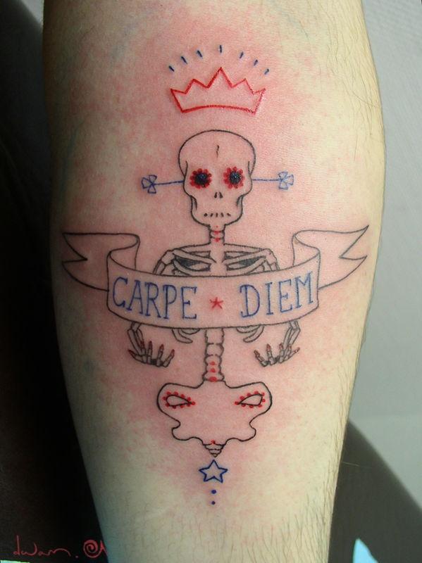 Hvem ville have troet, at jeg ville synes om en Carpe diem tattoo...