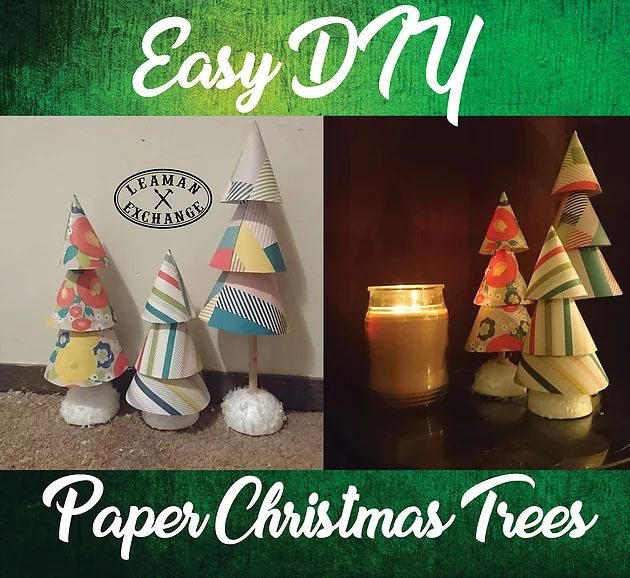 These are the easiest decorations to make and they are SUPER cute!You will need:3 sheets of scrapbook paper2 Styrofoam ballsFake snowGlue stickGlue gun3 length