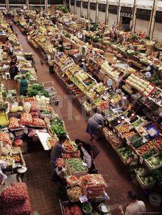 Lisbon Market, Mercado Da Ribeira, Lisbon, Portugal Photographic Print by Yadid Levy at Art.com