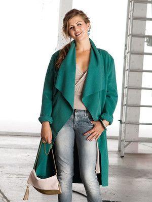 Schnittmuster: Mantel - ohne Verschlüsse - Jacken und Mäntel - Damen ...