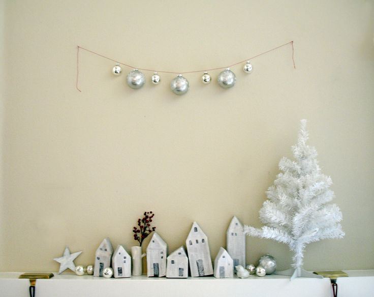 really love this look :): Ideas, Sweet, Xmas, Simple, Christmas Holiday, House, Christmas Decor