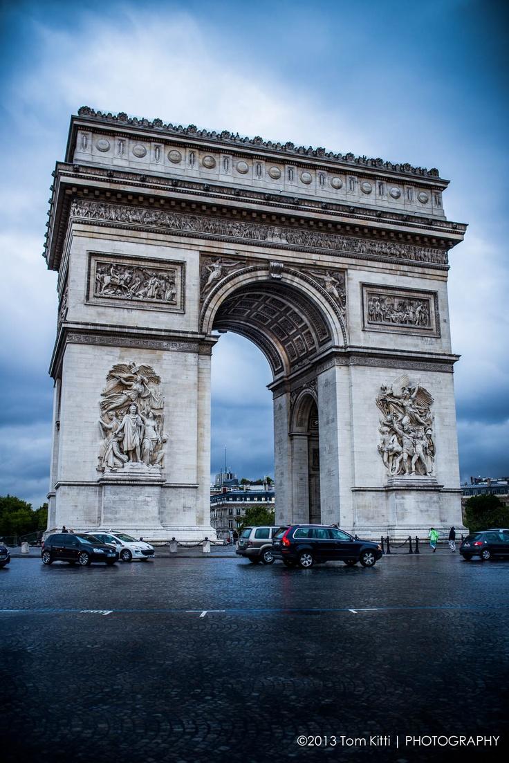 Arc De Triomphe #Paris #ArcDeTriomphe #France