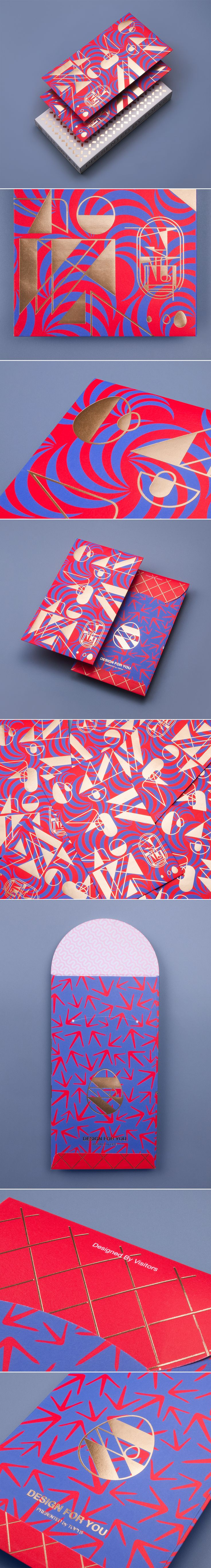 Rooster Red Packet Design on Behance
