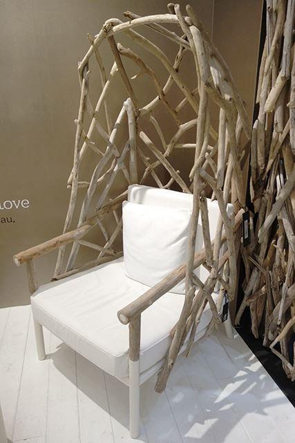 Modren Rustic Branch Canopy Arm Chair | I Wood Live It! | Pinterest | Canopy