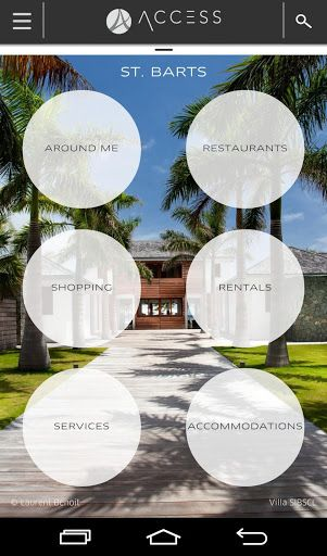 St Barth In Your Pocket!<p>Seven years of experience and in-depth data ataccess-stbarth.com<p>SEARCH, COMPARE, RESERVE<br>Your villa, hotel, car, boat, restaurant, shopping, activities, VIP services…<br>Over 20,000 clients have already reserved via acces