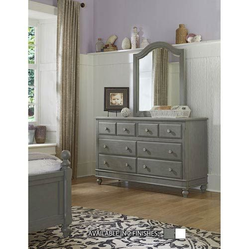 Lake House Stone 8 Drawer Dresser With Mirror Ne Kids Dressers With Mirrors Chests &