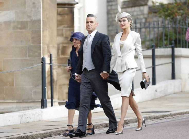 Hochzeit in England: Viele prominente Gäste sind da
