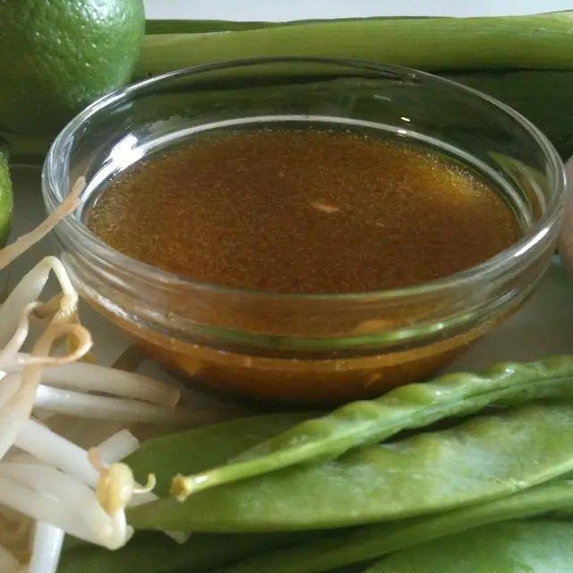 Asian Vinaigrette Recipe With Rice Vinegar and Sesame Oil
