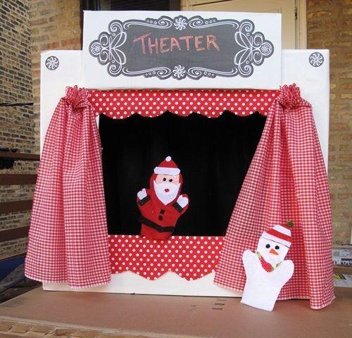 actividades para niños teatro con una caja de carton Como hacer un teatro con una caja de cartón